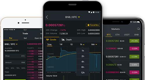 バイナンスモバイルアプリ